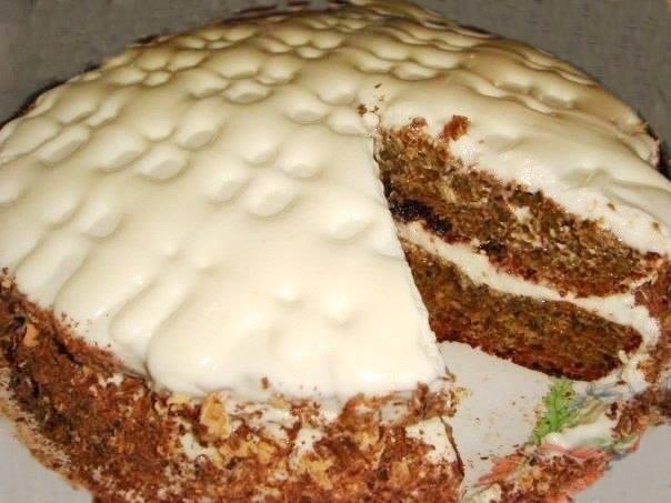 Торт легко и вкусно